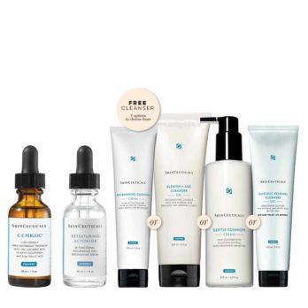 SkinCeuticals-Textured-Skin-C-E-Ferulic-Promo-4-cleanser-option