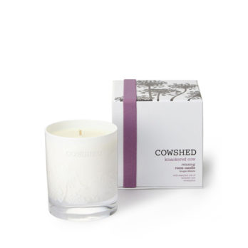 Knackered Cow Relaxing Room Candle with box