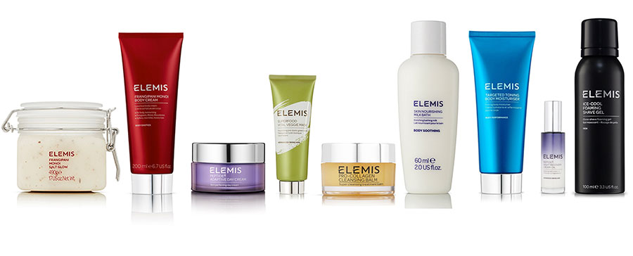Elemis-product-collage