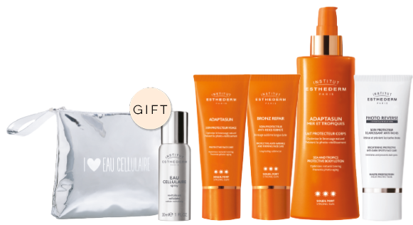 Institute Esthederm sun care gift promotion